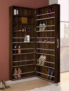 Organizador de zapatos con espejo