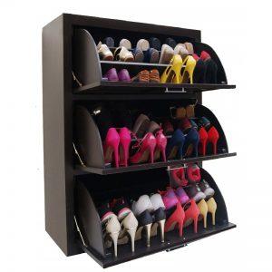 Organizador de zapatos de madera